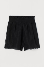 Shorts with Smocking