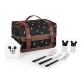 Disney Mickey Mouse Lunch Box with Utensils