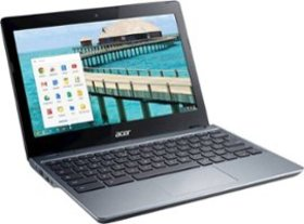 "Acer - 11.6"" Refurbished Chromebook - Intel Celero"
