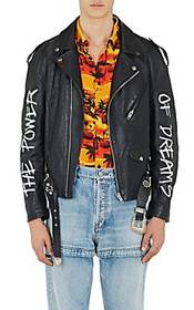 "Balenciaga ""The Power Of Dreams"" Leather Moto Jack"