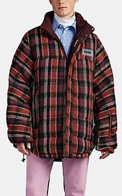 Napa by Martine Rose Checked Reversible Oversized