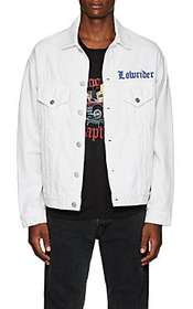 "ADAPTATION ""Lowrider""-Embroidered Denim Jacket"