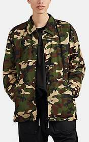 mastermind JAPAN Skull-Embroidered Camouflage Coac