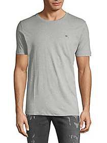 Diesel Roundneck Cotton Tee LIGHT GREY