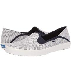 Keds Navy Heathered Railroad Stripe