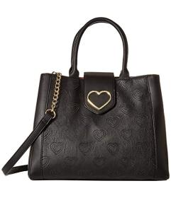 Betsey Johnson Embossed Satchel