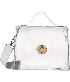 Hat Attack Clear Stadium Bag with Additional Strap