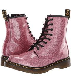 Dr. Martens Kid's Collection Pink Glitter Sta