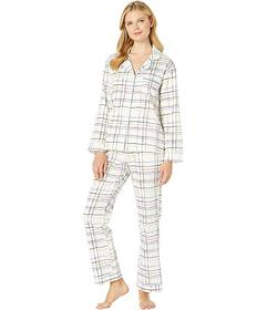 BedHead Pajamas Long Sleeve Classic Notch Collar P