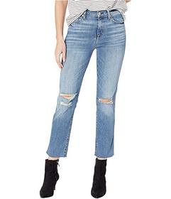 7 For All Mankind Edie Cropped Straight in Pretty
