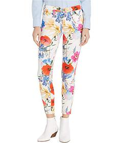7 For All Mankind Printed Ankle Skinny in Seaside