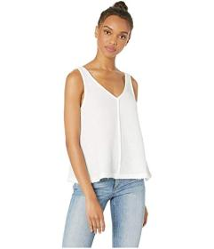 Splendid V-Neck Gauze Tank Top