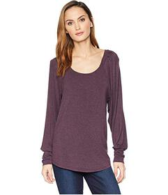 B Collection by Bobeau Malin Puff Sleeve Knit Top