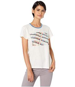 Splendid Ombrello Short Sleeve Tee