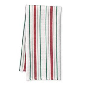 Holiday Stripe Kitchen Towels, Set of 2