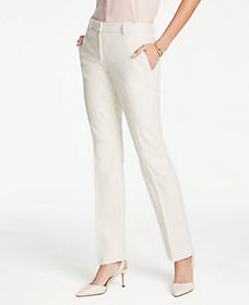 The Straight Leg Pant In Texture - Curvy Fit