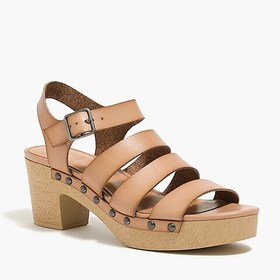 J. Crew Factory Strappy clog sandals
