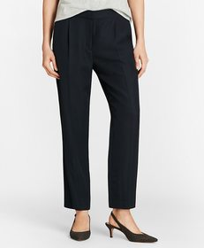 Brooks Brothers Pleat-Front Straight-Leg Trousers