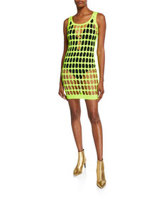 Moschino Couture Cutout Knitted Bodycon Dress
