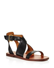 Chloé - Women's Virginia Leather Ankle Strap Sanda