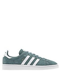 Adidas Men's Campus Lace-Up Sneakers GREEN