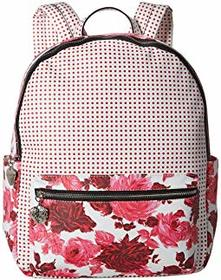 Betsey Johnson Mixing It Up Large PVC Backpack