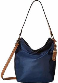 Tommy Hilfiger Julia Convertible Solid Nylon Hobo