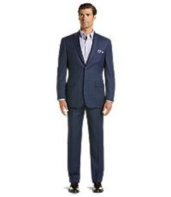 Jos Bank Traveler Collection Tailored Fit Plaid Su