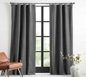 Pottery Barn Chateau Basketweave Blackout Curtain