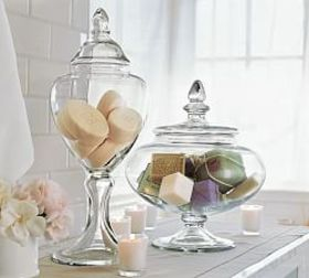 Pottery Barn Voluminous Canisters