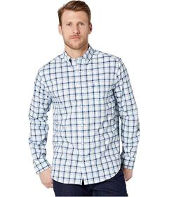 Nautica Classic Fit Plaid Long Sleeve Shirt