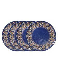 Pfaltzgraff Set of 4 Melamine Dinner Plates