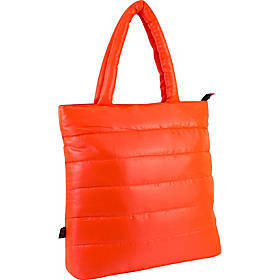 Fuel Neon Quilted Puffy Lap Top Tote