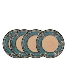 Pfaltzgraff Set of 4 Melamine Salad Plates