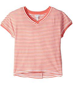 Splendid Littles Yarn-Dyed Slub Jersey Top (Big Ki