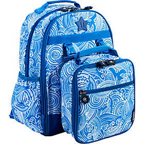J World New York Duet Kids' Backpack with Lunch Ba
