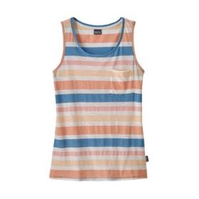 W's Mainstay Tank, Water Ribbons: Port Blue (WRPB)