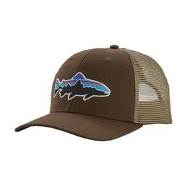 Fitz Roy Trout Trucker Hat, Weathered Stone (WSTO)