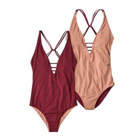 W's Reversible Extended Break One-Piece Swimsuit,