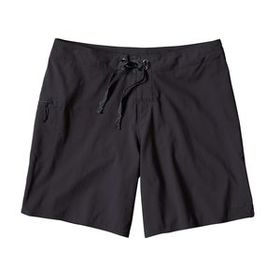 "W's Stretch Planing Board Shorts - 8"", Black (BLK)"