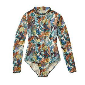W's Long-Sleeved Swell Seeker One-Piece Swimsuit,