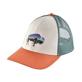 Fitz Roy Bison LoPro Trucker Hat, White (WHI)