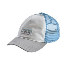 W's Pastel P-6 Label Layback Trucker Hat, White w/