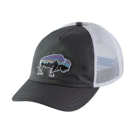 W's Fitz Roy Bison Layback Trucker Hat, Forge Grey