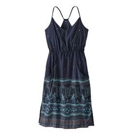 W's Lost Wildflower Dress, Forest Song: New Navy (