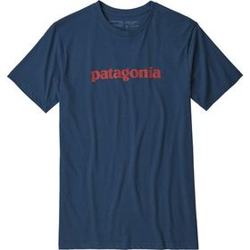 Patagonia Text Logo Organic T-Shirt - Men's