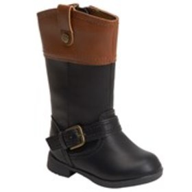 Toddler Girls Two-Tone Riding Boots