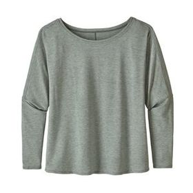 W's Long-Sleeved Glorya Top, Cave Grey (CAGR)