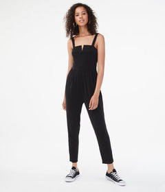 Aeropostale Seriously Soft V-Wire Jumpsuit