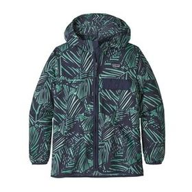 Kids' Baggies™ Jacket, Rain Fern Wash: Nettle Gree